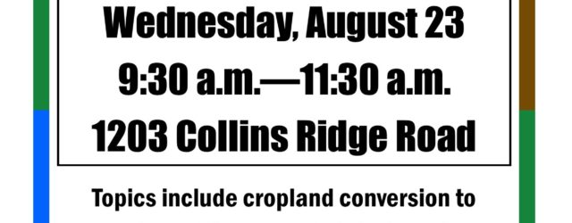 The Allamakee SWCD will be hosting a pasture walk on Wednesday, August 23 to showcase a rotational grazing system that producer Ryan Collins has implemented.  Speakers will include Doug Peterson […]