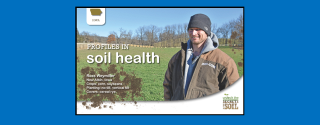 Several Allamakee farmers are being highlighted in NRCS' Profiles in Soil Health publications.  Ross Weymiller worked with the Allamakee SWCD to set up several different manure and cover crop trial […]
