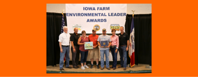 Pictured left to right: Jim Gulliford, regional administrator with the Environmental Protection Agency; Bruce Trautman, Iowa DNR acting director; Karen, Scott, and Dylan Ness; Iowa Governor Kim Reynolds; Iowa Agriculture […]